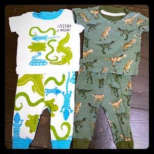 Children's Place 0-3 months pajamas bundle